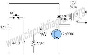 simple timer circuit diagram timer relay wiring diagram simple timer simple timer circuit diagram