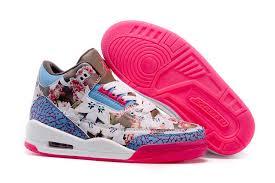 jordan shoes 2015 for girls. 2015 air jordan 3 gs school season brown blue pink shoes for girls