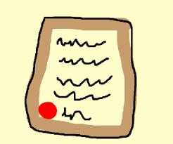 Resultado de imagen de illegible letter
