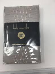 new kelly wearstler bedding sline cotton queen pillowcases mist