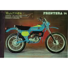 Bultaco Frontera 74 Mod 174 Manual Usuario Plan De Graissage