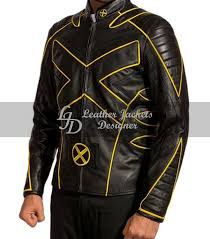 x men last stand wolverine mens leather jacket main