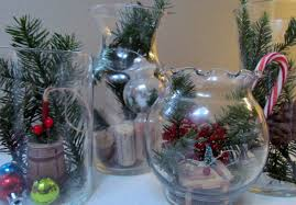 Decorating Ideas For Glass Jars DIY Terrarium Holiday Glass Jar Vase Christmas Decoration Glass 38