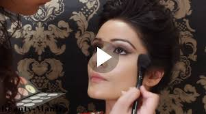 indian bridal makeup gold eye makeup and winged eye liner