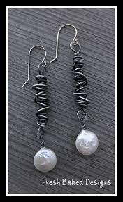 Pin by Myra McDaniel on Earrings | Wire jewelry, Steel jewelry, Metal  jewelry