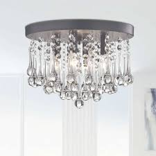 alya 4 light led flush mount reviews birch lane pertaining to flush mount chandelier