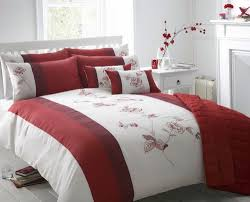 red duvet cover canada