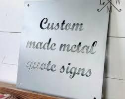 Custom Metal Decorative Signs Kitchen Sign Steel Farm Sign Custom Metal Sign 1
