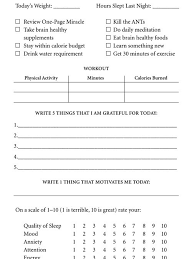 workout and food journal 18 best diet exercise journal images on pinterest printable
