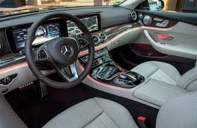 2018 mercedes benz e class coupe.  coupe view of the driver cockpit 2018 mercedesbenz eclass coupe throughout mercedes benz e class coupe