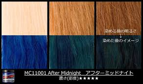 Manic Panic Blue Color Chart What Hour Is It Aftermidnight Manicpanic Manicpanicjapan