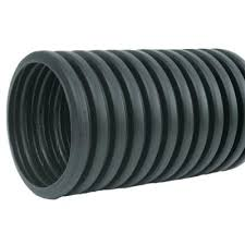 corrugated hdpe drain pipe solid with