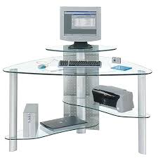 office depot glass computer desk.  Computer Office Depot Glass Desk Impressive Computer And Furniture  Desks For Home White L Shaped Throughout S