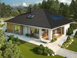 Modern Single Story House 5  Flat Roof Modern House Plans One One Story House