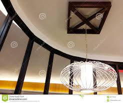 Asian Ceiling Lights Stylish Asian Styled Ceiling Lamp Stock Photo Image Of