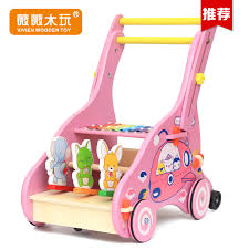 get ations multifunction walker car four baby stroller baby child wooden children walker toy years of age