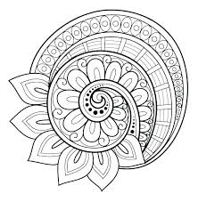 Abstract Coloring Pages For Kids Mandala Coloring Pages Free