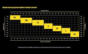 Adidas Chest Protector Sizing Chart Storelli Size Charts