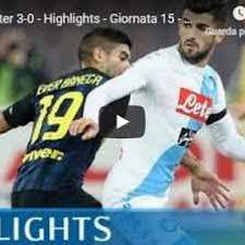 Serie A - Napoli - Inter 3-0 Gol e Highlights - Giornata 15 ...