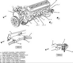 1994 buick roadmaster spark plug wire illustation lt1 graphic graphic