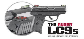 southport ct firearmsguide com the lc9s centerfire pistol is now available with hiviz lightwave fiber optic front and rear sights