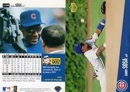 We do not factor unsold items into our prices. Sammy Sosa Price List Supercollector Catalog
