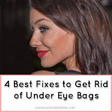 according to the mayo clinic under eye bags result from the weakening of muscles and tissues around the eyes causing puffiness the surrounding fat tissue