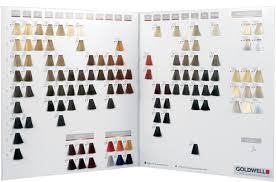 Salon Professional Supplies Pro Colour Chart Goldwell Topchic Color Swatch Book Coloring Pages