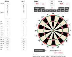 Darts Points Chart Dartcalculators Free To Use Dart Calculators