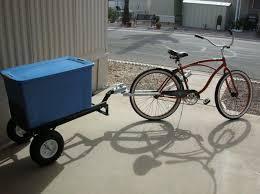 homemade bike trailer hitch