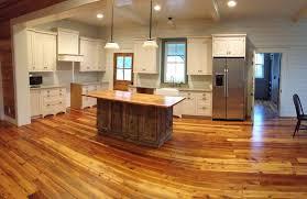 Wood Kitchen Flooring Old Texas Wood