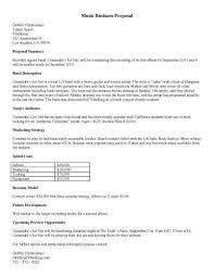 music business proposal bookkeeping proposal