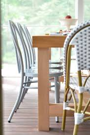 Bentwood Dining Table Screened Porch Updates Metal Bentwood Chairs And A Diy Dining
