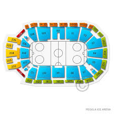 Penn State Ice Hockey Arena Seating Chart Pegula Ice Arena Tickets