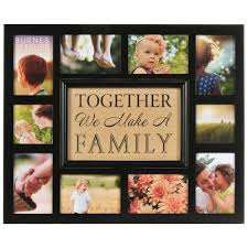 pinnacle 10 opening 4 in x 4 in 4 in x 6 in collage matted picture frame 582010e the home depot