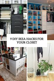 9 cool and easy diy ikea s for your closet