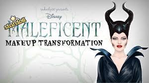stardoll cosplay disney s maleficent makeup transformation