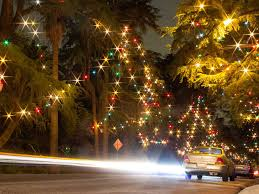 see christmas lights in los angeles