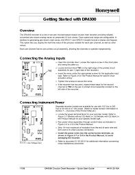 Honeywell Dr4300 Users Manual 44 01 25 16a Manualzz Com