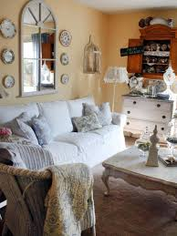 Decorations: Shabby Chic Inspiration For Living Room With Shabby Chic Ideas  -