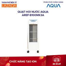 Bán Quạt hơi nước AQUA AREF-B100MK3A -Công suất 120W, Điều khiển từ xa,  Bánh Xe dễ di chuyển - Hàng phân phối chính hãng