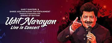 Udit Narayan – Live In Concert music-shows Mumbai - BookMyShow