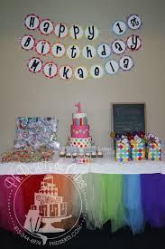 Mikaelas 1st Birthday Party Phd Serts Cakes