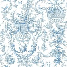 York Wallcoverings Old World Toile ...