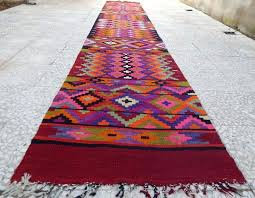 14 runner rug foot extra long handmade pink rug wool hallway rugs runner rugs 14 feet