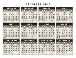 Free 2015 Calendars As Pdf Illustrator And Indesign Files For Download