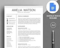 google docs resume google docs resume etsy