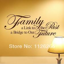 wall decal family art bedroom decor family a bridge to our future vinyl wall stickers art home room decor spiritual quotes wall decals for living room bedroom