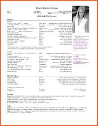 Actors Resume Acting Resume Template For Microsoft Word RESUME 47