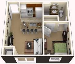 One Bedroom Apartment Design Cool Magnificent One Bedroom Apartment Cool One Bedroom Apartment Designs